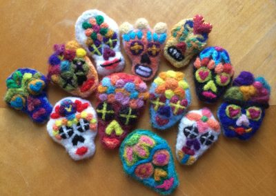 Felted Lapel Pins