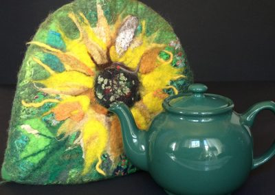 Teapot Cozy  - fits a standard teapot (brown betty)
