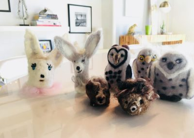 Finger Puppets and Woodland Creatures